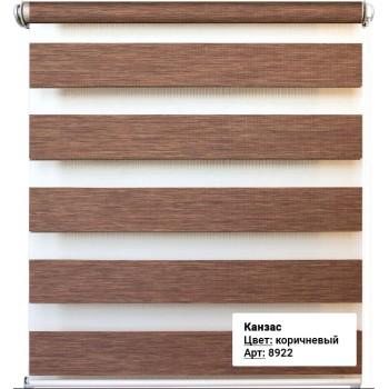 Рулонная штора Канзас коричневый