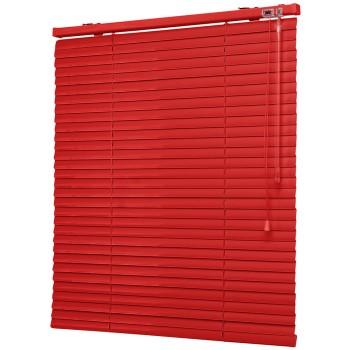 Жалюзи горизонтальные Полоса красный
